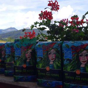Coffee for future bereit für die Eistour im Lungau