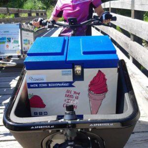 Anreise mit der Eisbox